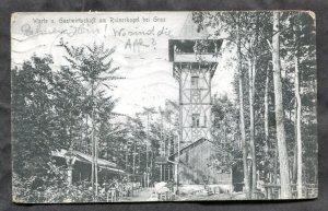 dc895 - REINERKOGEL bei Graz Austria 1913 Restaurant Postcard