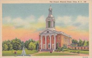 New York Utica The Chapel Masonic Home
