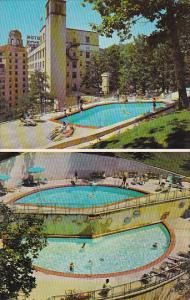 Arlington Hotel and Swimming Pool Hot Springs Arkansas