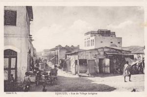Djibouti , 00-10s ; Rue du Village Indigene