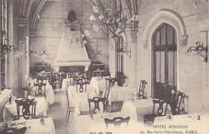 Paris , France , 00-10s , Hotel Windsor (Dining Room) 26, Rue Saint Petersbourg