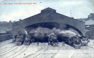 Union Station, Train Shed Grand Rapids MI Writing on back