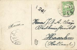 serbia, ZEMUN SEMLIN ZIMONY, River Scene with Steamers (1912) Stamp