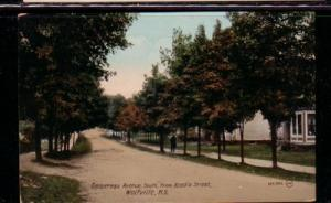 Gaspereau Ave, Wolfville NS Valentine & Sons Colour PC