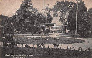 Hotel Homann, Bandoeng Java Tuinaanzicht Indonesia, Republik Indonesia Unused