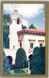 1935 San Diego CA Expo CPIE Postcard Palace of Photography Balboa Park Unused
