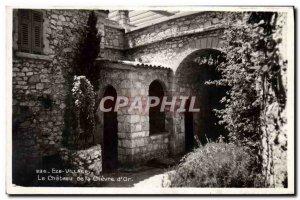 Old Postcard Eze Village The castle of chevre d & # 39or