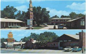 Western Motel, 715 Wilbarger St. Vernon, Texas, TX, Chrome
