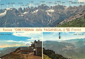BT0737 Funivia Direttissima della Paganella cable train    Italy
