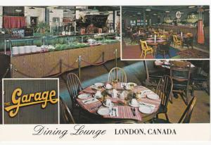 LONDON, Ontario, Canada, 1950-60s ; The Garage, Dining Lounge