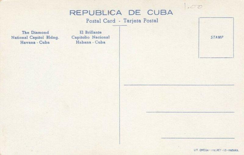 HAVANA , Cuba , 00-10s ; The Diamond, National Capitol Building