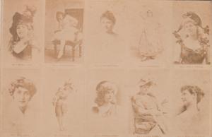 TC: 10 Actresses ... Chew CLIMAX Plug (Tobacco) , 1901-07