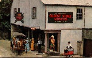 Florida St Augustine Oldest Store Museum Artillery Lane
