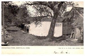 Connectiicut Montville  ,  Scholfield  Pond