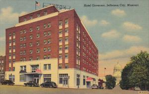 Missouri Jefferson City Hotel Governor Curteich