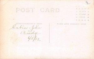 H78/ Washington D.C. RPPC Postcard c1910 Cabin John Brodge Women 168