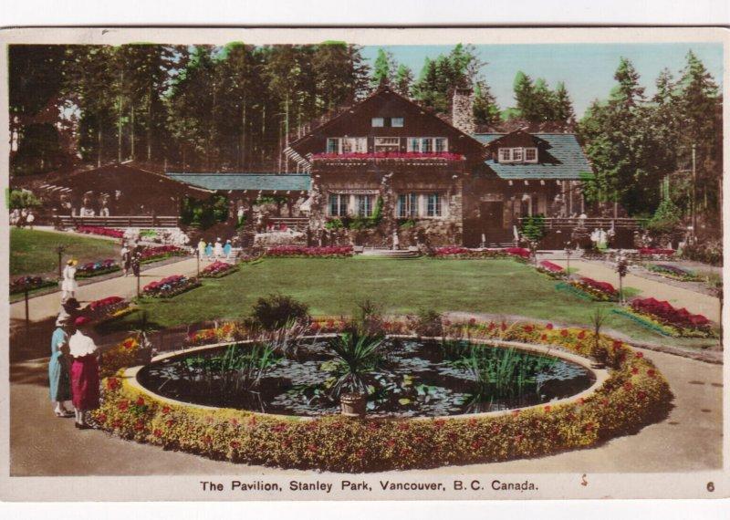 RP; VANCOUVER, British Columbia, Canada, PU-1936; The Pavilion, Stanley Park
