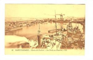 Saint-Nazaire, , Loire-Atlantique department , France, 1910s , Bassin de Penh...