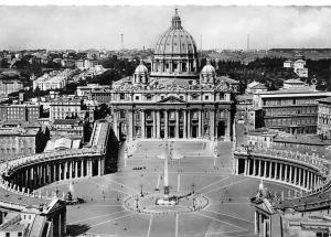 Italy Roma S. Pietro St. Pierre Aerial view
