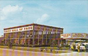 Entrance Building To The Circus Hall Of Fame Sarasota Florida