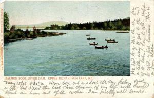 ME - Upper Richardson Lake. Salmon Pool Upper Dam