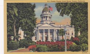 Fresno County Court House, Fresno, California, 1930-1940s