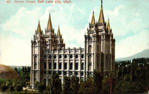 Utah Salt Lake City Mormon Temple