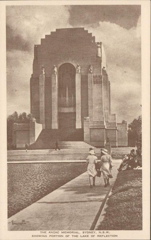 The Anzac Memorial west front Sydney Australia