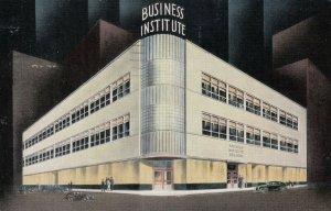 MILWAUKEE, Wisconsin, 1941 ; Business Institute