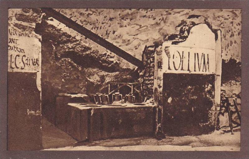 POMPEI, Extrerior of the Thermopolium, Campania, Italy, 10-20s