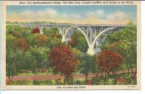 Minneapolis, MN - Fort Snelling-Mendota Bridge - 1943