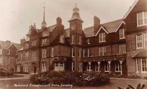 England Swanley, Parkwood Convalescent Home, real photo 1912