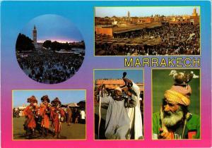 CPM MAROC Marrakech-L'inoubliable place Djemaa El Fna (343107)