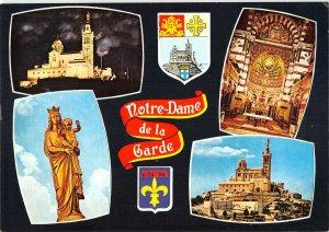 B110491 France Marseille Basilique Notre-Dame de la Garde Staute