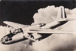 Douglas D.B.7 Lichte bommenwerper van de Fransche Luchtmacht /airplane, 30-40s