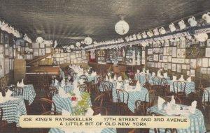 NEW YORK CITY , 30-40s ; Joe King's Rathskller