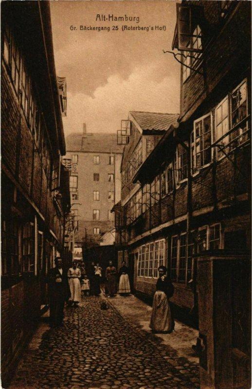 CPA AK Hamburg- Gr. Backergang 25 GERMANY (902117)