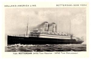 T.S.S. Rotterdam , Holland America Line