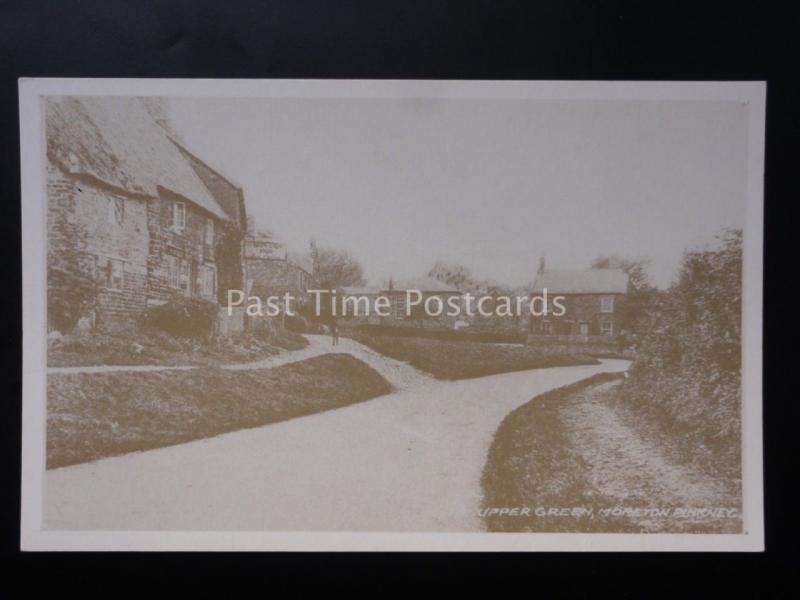 Northamptonshire: Moreton Pinkney (Scene 10) UPPER GREEN Reproduction Postcard