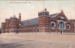 TORONTO, Ontario, Canada, 1900-1910's; The Armouries