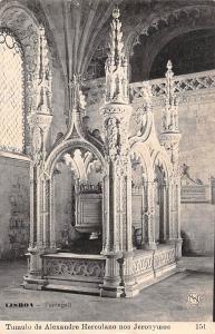 Portugal Lisboa Tumulo de Alexandre Herculano nos Jeronymos