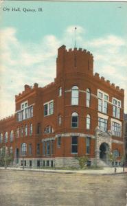 QUINCY , Illinois , 00-10s ; City Hall