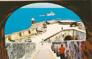 Puerto Rico San Juan National Historic Site Main Ramp
