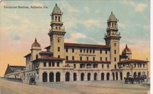 ATLANTA, Georgia, 1900-1910's; Terminal Station