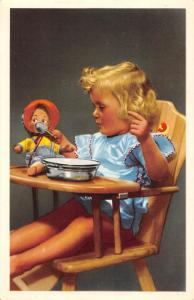 Young girl, fille, fillette kinder toy baby, Paris