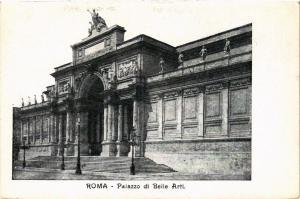 CPA AK ROMA Palazzo di Belle Arti ITALY (551925)