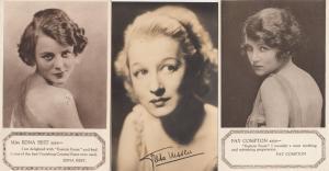 Edwardian Actress Fay Compton Edna Best Beauty Cream 3x Advertising Postcard s