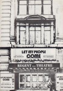 Let My People Come Vill Van Dijk Dutch Sesame Street Theatre Programme & Extra