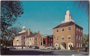 New Castle Delaware, Court House, Postcard