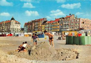 Belgium Zeebrugge Beach and Promenade Plage et Digue